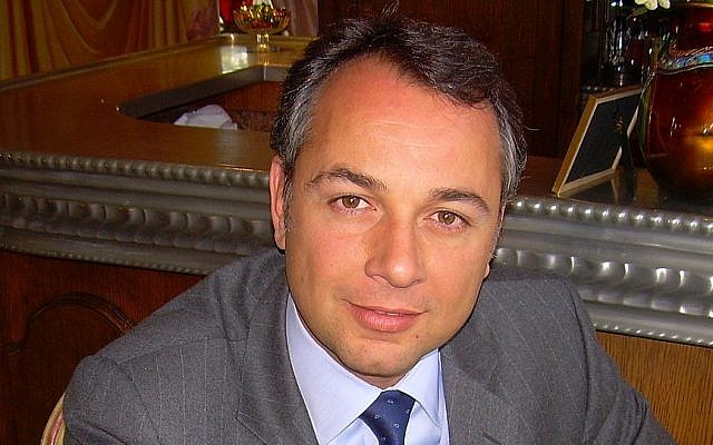 Philippe Karsenty, Jewish-French politician and focus of legal battle over the al-Dura video. (photo credit: CC BY Philippe Karsenty, Wikimedia Commons)