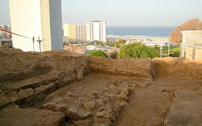 The ancient fortress at Givat Yona (photo credit: c/o Israel Antiquities Authority)