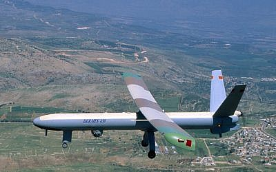 Did Israel trade UAV codes for missile secrets with Russia? (photo credit: Elbit via Tsahi Ben-Ami / Flash 90)
