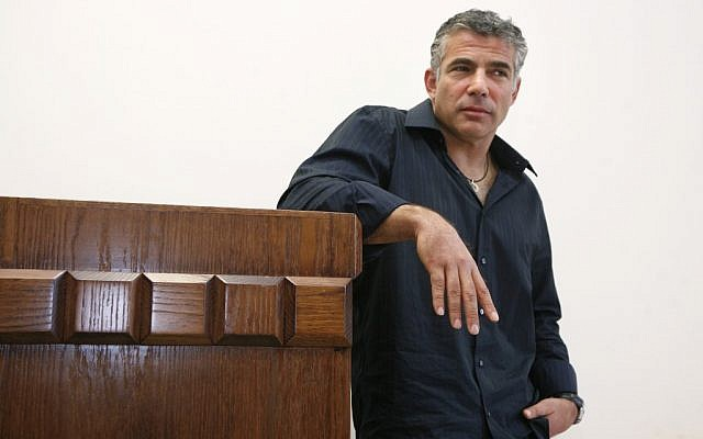 Yair Lapid in 2008. (photo credit: Michal Fattal/Flash90)
