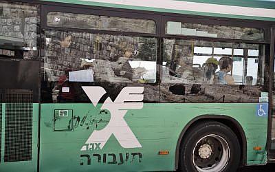 Egged bus (photo credit: Abir Sultan/Flash90)