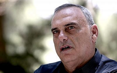 Israeli soccer coach Avram Grant in 2009 (Abir Sultan/Flash90)