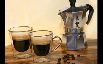 Cups of espresso (photo credit: Chen Leopold/Flash 90)