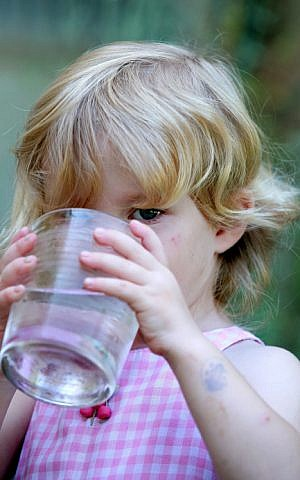 The Environment Ministry is set to promote the drinking of tap water. (photo credit: Moshe Shai/Flash90)