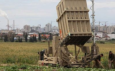 The Iron Dome rocket defense system in the south. (photo credit: Edi Israel/Flash 90)