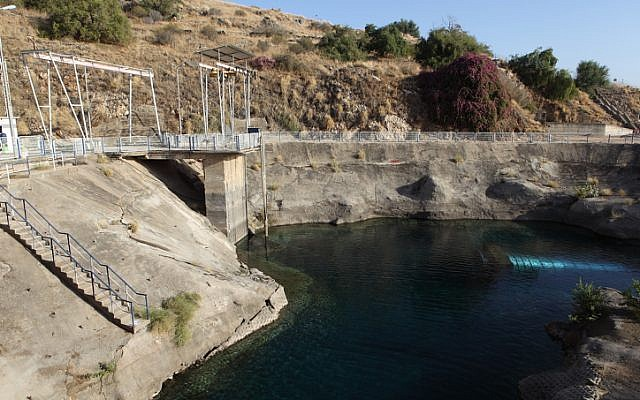 The Sapir pumping station, near the Sea of Galilee. Water authorities predict a water surplus in coming years. (photo credit: Yaakov Naumi/Flash90)
