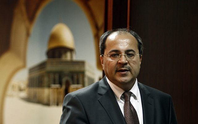 MK Ahmad Tibi (photo credit: Uri Lenz/Flash90)