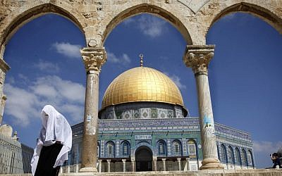 The Temple Mount in Jerusalem (photo credit: Miriam Alster/Flash90)