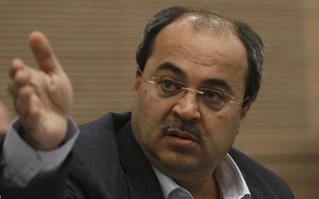 MK Ahmad Tibi (photo credit: Uri Lenz/Flash90)