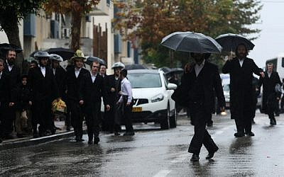 Behadrei Haredim is one of the most popular websites among members of the ultra-Orthodox community. (photo credit: Kobi Gideon/Flash90)