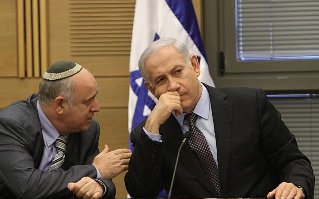 Prime Minister Benjamin Netanyahu will bide his time till the next elections rather than advance them. (photo credit: Miriam Alster/Flash90)