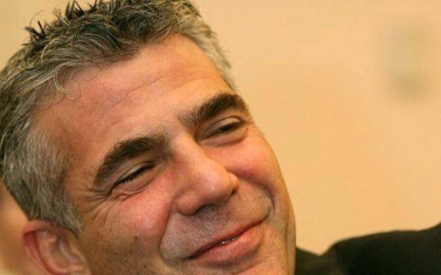 Yair Lapid ( Photo by Moshe Shai/FLASH90)