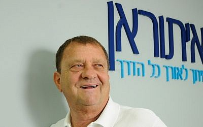 Izzy Sheratzky, director and chairman of Ituran Location and Control Ltd. (photo credit: Yossi Zeliger/Flash90)