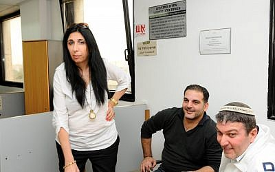 Train workers union head Gila Edrey in court last week. (photo credit: Yossi Zelliger/Flash90)