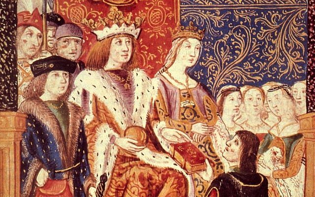 Ferdinand and Isabella of Spain in about 1469, the year of their marriage.