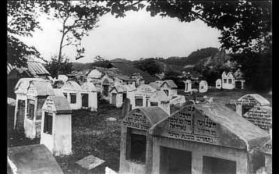 Jewish Cemetery Vilnius, 1922 (Wikimedia Commons)