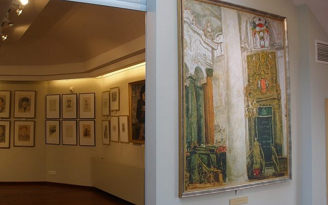 Jewish Museum of Vilnius (photo credit: Michal Shmulovich)