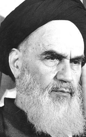 Ayatollah Khomeini (photo credit: Namalom/Wikimedia Commons/File)