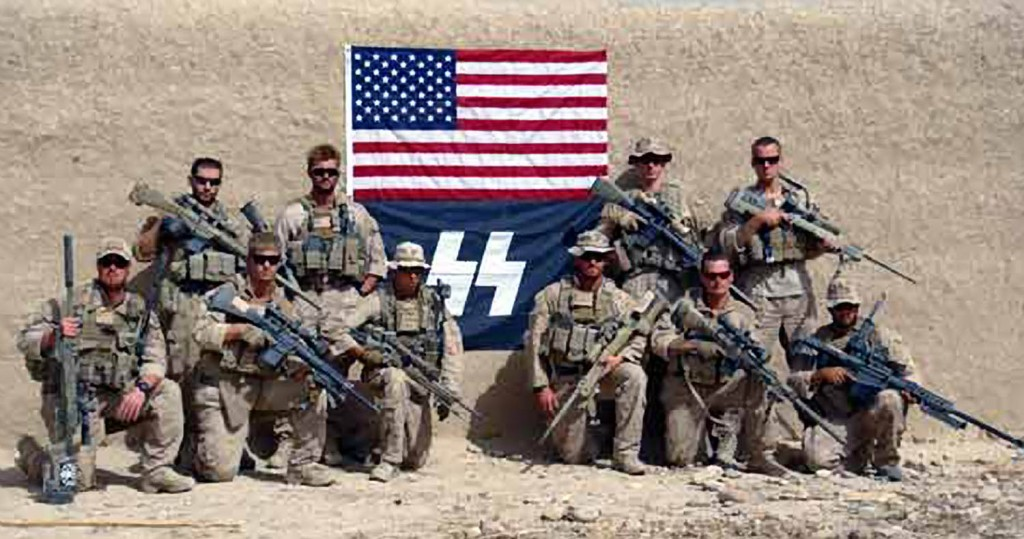 Us Marines Pose With Nazi Ss Symbol In Afghanistan The Times Of Israel