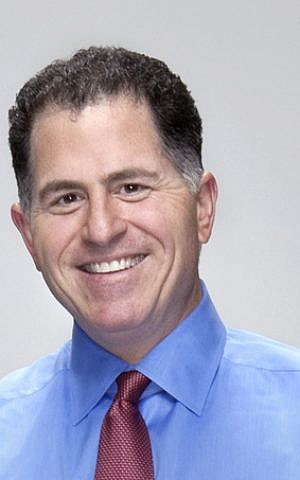 Michael Dell (photo credit: Mikeandryan, flickr, Wikimedia Commons)