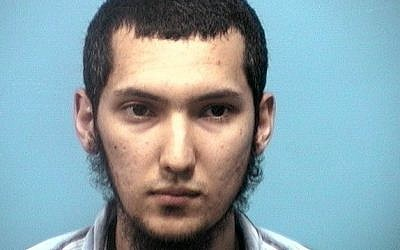 An undated handout photo provided by the Shelby County, Ala., Sheriff's Dept. shows 22-year-old Ulugbek Kodirov, who pleaded guilty in a plot to kill US President Barack Obama Friday in Birmingham, Ala. Kodirov was indicted last year on a charge of threatening Obama's life and illegally possessing an automatic rifle. Federal authorities added an additional terror charge Thursday. (photo credit: AP Photo/Shelby County Sheriff's Dept.)