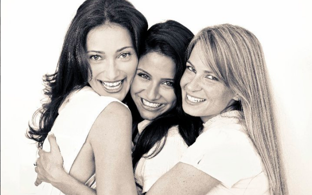 The three women of 'Shalosh' (photo credit: Courtesy)