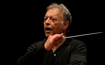Zubin Mehta, conductor of Israel's Philharmonic Orchestra. (photo credit Oded Altman/Flash90)