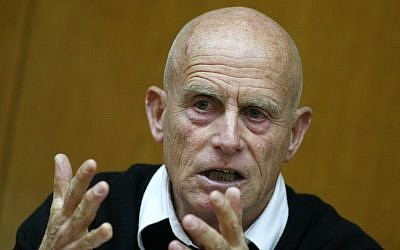 Former Shin Bet chief Ami Ayalon. (Olivier Fitoussi/Flash90)