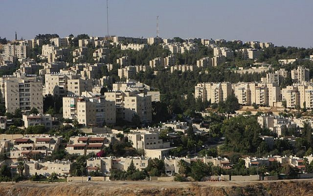 The Armon Hanatziv neighborhood of Jerusalem (photo credit: Nati Shohat/Flash90)