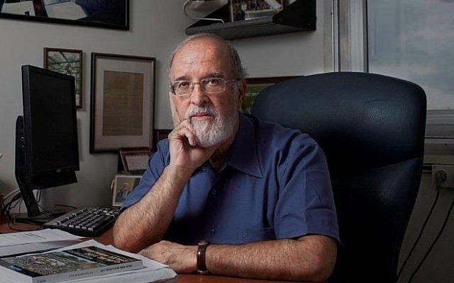 Isaac Ben-Israel (Photo credit: Courtesy)