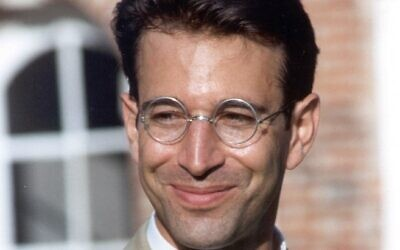 Murdered journalist Daniel Pearl. (Photo credit: the Daniel Pearl Foundation)