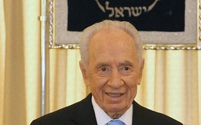 President Shimon Peres (photo credit: courtesy President's Residence)