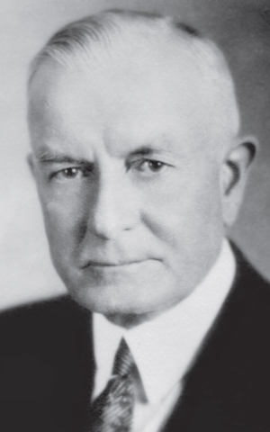Thomas J. Watson, circa 1920s (photo credit: courtesy/ Edwin Black Collection, IBM corporate archives)