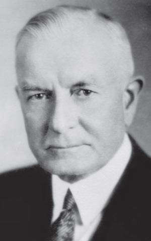 Thomas J. Watson, circa 1920s (photo credit: courtesy/ Edwin Black Collection, IBM corporate archives)