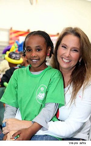 Shari Arison. 'I've always cared about the people around me and nature. It is just part of my soul.' (Photo credit: Sivan Farag)