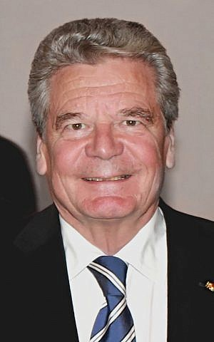 German President Joachim Gauck. (Photo credit: CC-BY J. Patrick Fischer, Wikipedia)