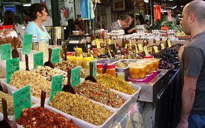 Tel Aviv's Carmel market. (photo credit: CC BY Mendocino Girl2005, Flickr)