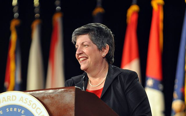Secretary of Homeland Security Janet Napolitano (photo credit: CC BY The National Guard, Flickr)
