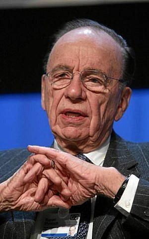 Rupert Murdoch (photo credit: weforum, Wikimedia commons)