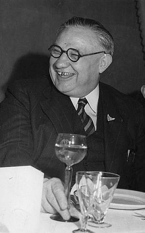 Ernest Bevin (photo credit: British Government, Wikimedia Commons)