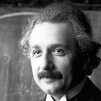 Albert Einstein (CC-BY-Ferdinand Schmutzer, Wikimedia Commons)