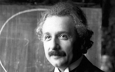 Albert Einstein (photo credit: CC-BY-Ferdinand Schmutzer, Wikimedia Commons)
