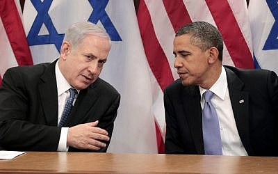 Netanyahu and Obama, at the UN last September. (photo credit: APphoto/Pablo Martinez Monsivais)