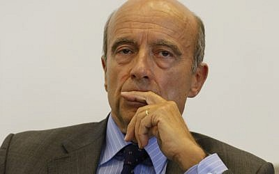 French Foreign Minister Alain Juppé is hosting the Syria sanctions conference in Paris (photo credit: CC BY-SA MEDER, Flickr)