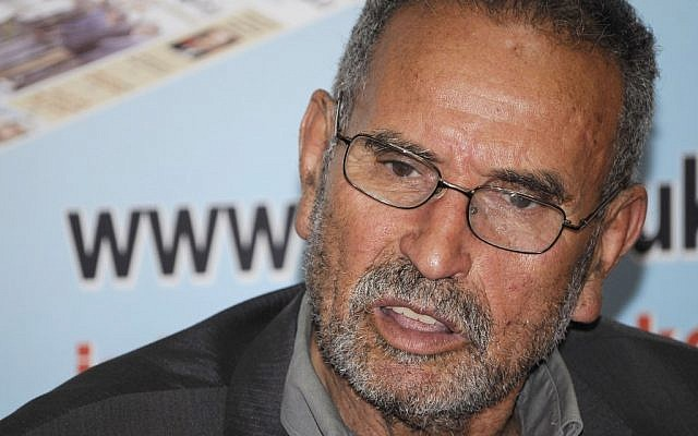 Mohamed Benallal Merah, the father of Mohamed Merah, who was estranged from his son and lives in Algeria, wanted his son buried in that country. (photo credit: AP)