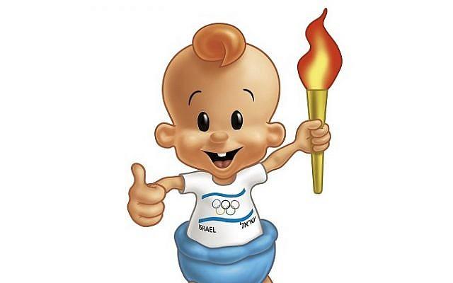 The bamba baby will lead Israel's Olympic hopefuls (photo credit: Osem studio)