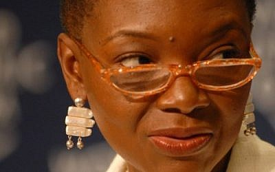UN humanitarian chief Valerie Amos (photo credit: CC BY-SA  shizhao/Wikimedia commons)