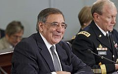 US Defense Secretary Leon Panetta testifying in Congress in March. (photo credit: AP)