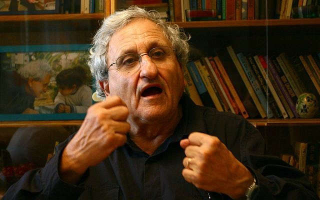 Israeli writer A.B. Yehoshua (photo credit: Chen Leopold/Flash 90)