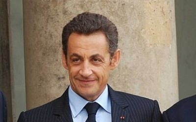 French President Nicolas Sarkozy at the Elysee Palace in Paris (photo credit: Avi Ohayon/GPO/Flash90)
